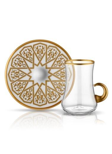 Dervish Kulplu Çay Seti 6lı Selçuklu-Koleksiyon